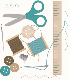 lessons from sewing, sewing lessons, stitching lessons