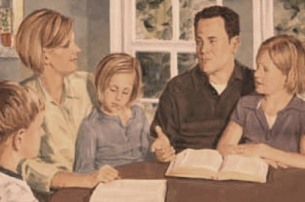 Family worship, family devotions, family time, home church, family bible time, quiet time with family